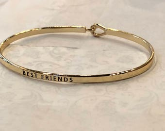 The inspired bangle ( best friend