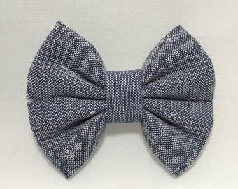 Picnic Time - Fabric Barrette Bow