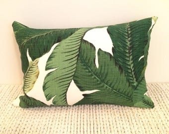 12 x 18 Palm Frond Pillow Cover (Indoor/Outdoor)
