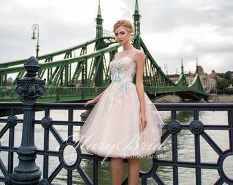Budapest- Evening dress V-045