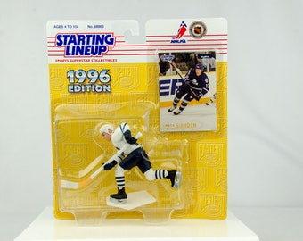 Starting Lineup NHL 1996 Mats Sundin Action Figure Toronto Maple Leafs