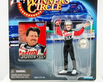 Rare Starting Lineup Winner's Circle 1998 Nascar Series 2 John Force Figure