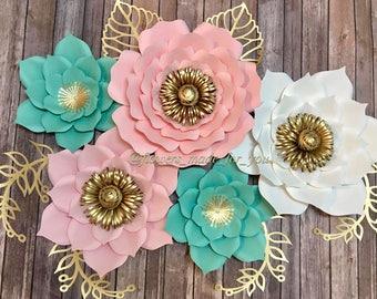 Set of 5 Flowers