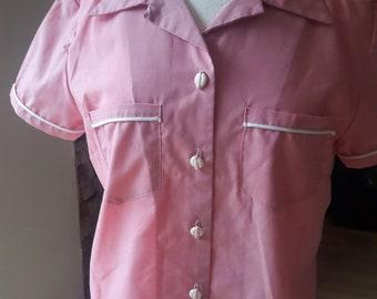 1950's ladies bowling shirt