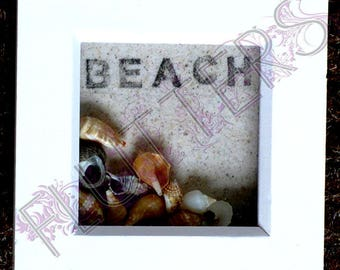 Sea Shell and Sand Box frame