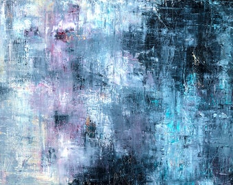 High quality abstract art print - Veil