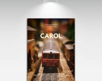 Carol Movie Posters for Art Print on Canvas Home Wall Decor