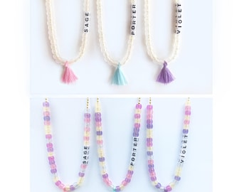 Color Changing Necklaces