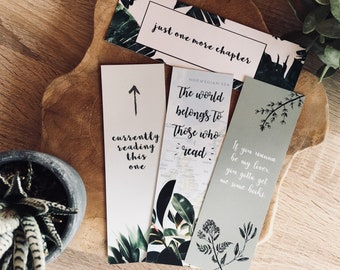PLANTS EDITION bookmarks