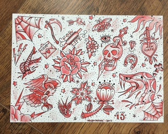 Flash Sheet Print
