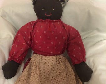 Primitive Black Doll