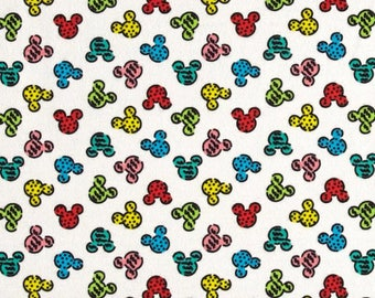 Mickey Heads Multi Color