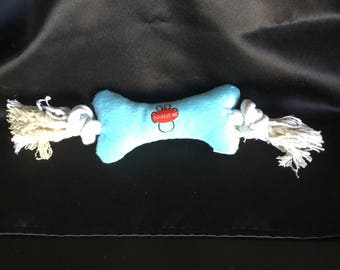 Plush Rope Bone