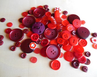 Buttons Red