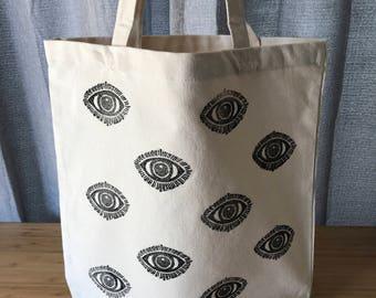 Eye See You Market Tote Bag