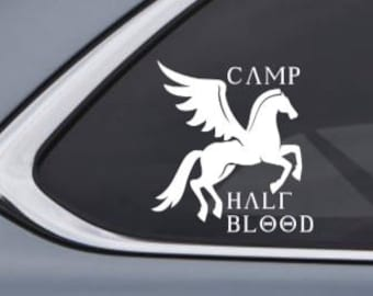 Camp Half Blood Car Decal Sticker - Inspired by Percy Jackson and the Olympians Custom Vinyl Decal