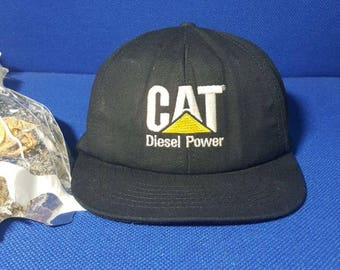 FREE SHIPPING !!! Vintage Cap CAT Caterpillar Diesel Power
