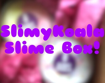 Slime box! (Read description)