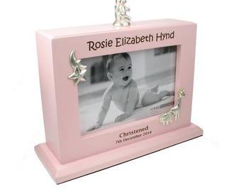 Personalised Baby 6x4 Photo Album   Personalized Baby Girl Album   Baby Christening Baptism Christmas Birthday Gift