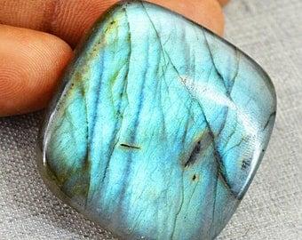 Flat 50% OFF Blue Flash labradorite cabochon gem