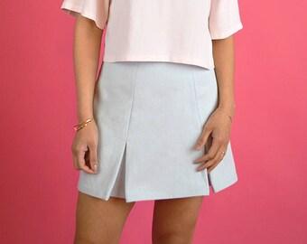 Pastel Pleated Skirt // Japanese Korean Summer Fashion