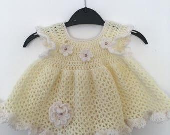 Baby girl crochet dress