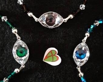 Swarovski Eyes Bracelets
