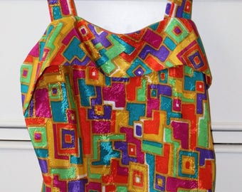 Vintage multi-color tank top
