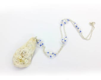 FREE SHIPPING - Oyster necklace