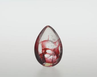 Ghost Phantom Garden Quartz Crystal Pendant