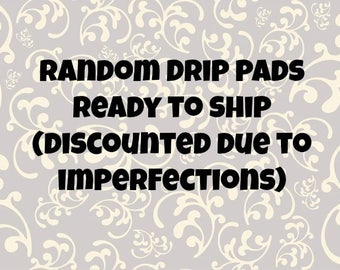 Imperfect* ready to ship fleece drip pads with two layers of U-Haul for guinea pigs, rats, chinchillas, and other small animal cages