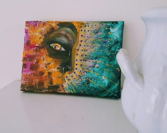 "Original Miniature Painting ""Inner Warrior"""