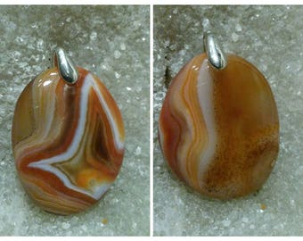 SARDONYX AGATE 8 to choose from-oval pendants