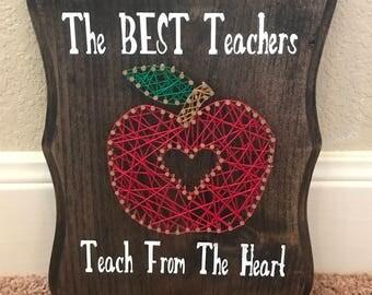Teacher String Art Board