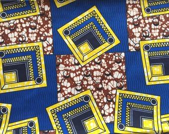 Tissu wax africain - tissu imprimé africain - tissu pagne