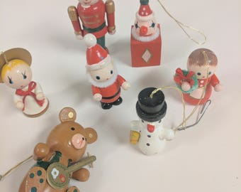 Vintage Christmas ornaments for a x-mas tree!