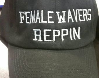 Wavy hat for females