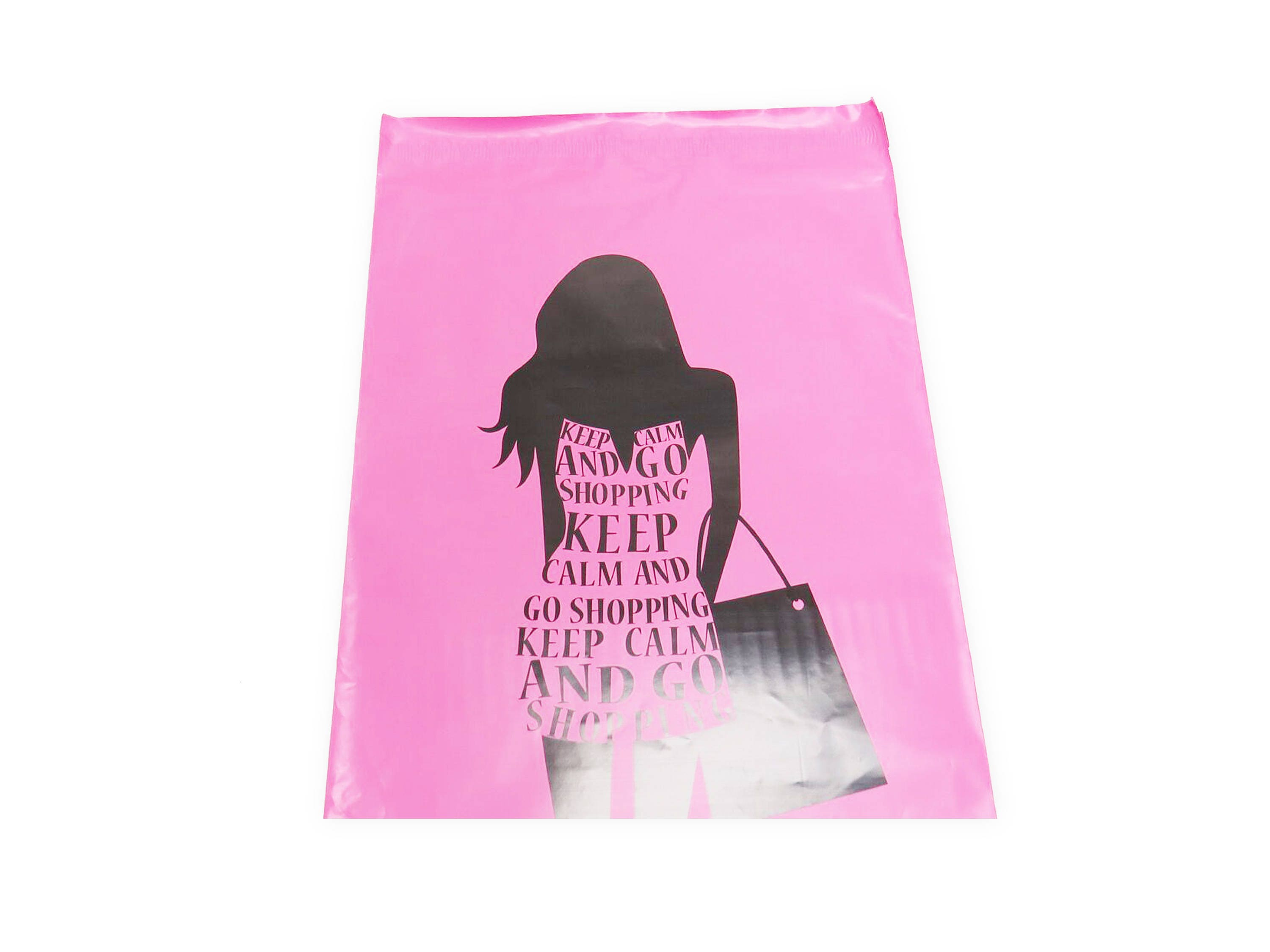 100 PCS 10x13 Poly Mailers Designer Go Shopping Lightweight Self