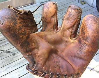 Vintage Reach 291 Triple Play Baseball Glove