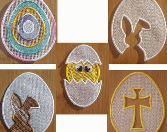 Embroidery File FSL Easter Set
