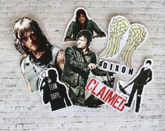 daryl dixon sticker pack