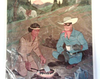 Vintage Whitman's The Lone Ranger Puzzle