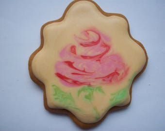 decorated cookies, edible gift