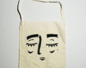 Dark Sadness Tote Calico Bag
