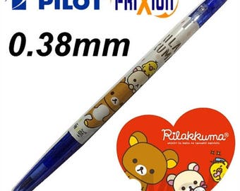 Japan Pilot Frixion - San-x Rilakkuma Erasable - ball pen 0.38mm