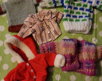Doll Clothes Winter Lot