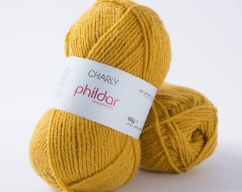 Wool Phildar Charly color rapeseed