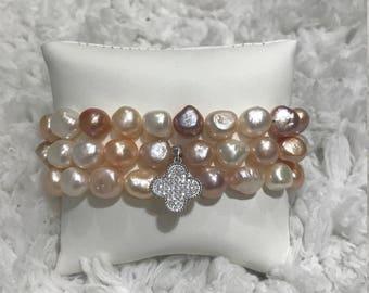 Multi Colored Pearl Set