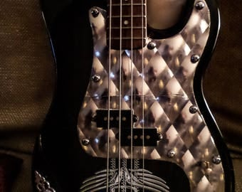 Beautifully Refurbished Vintage Electric Bass (Only 1 like this in the world)