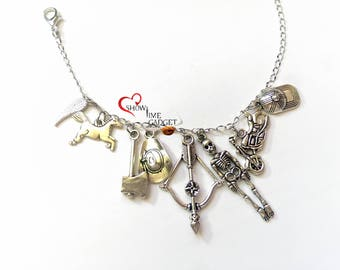 Bracelet - Zombie Necklace Walking - Choose Your Bracelet or Necklace